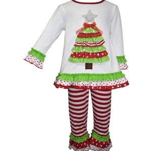 Blueberi Boulevard Holiday Christmas Tree Outfit